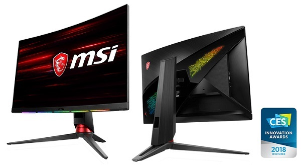 MSi Curved Monitor